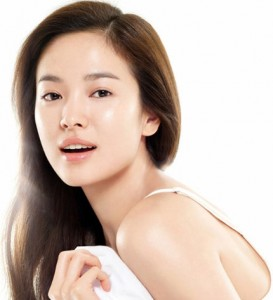 korean actress skin care
