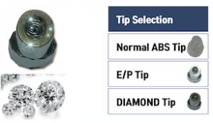 OMEGA钻石磨皮头