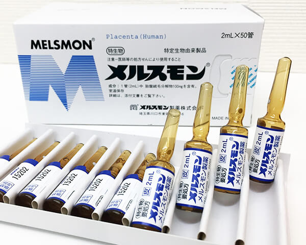 melsmon placenta injection