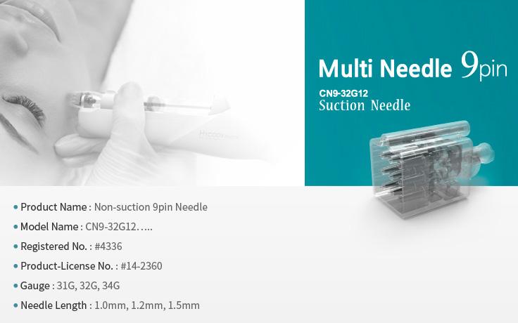 crystal multi needle 9 pin