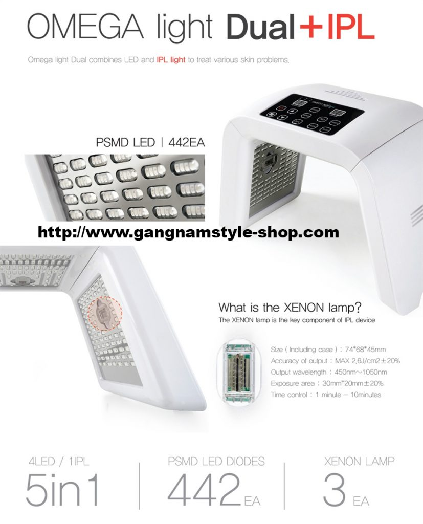 omega dual led light IPL
