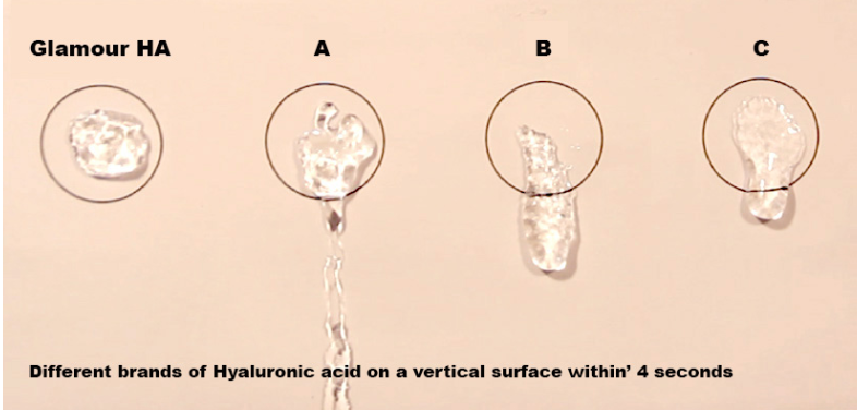 Glamour Hyaluronic Acid for Hyaluron Pen needle free injection